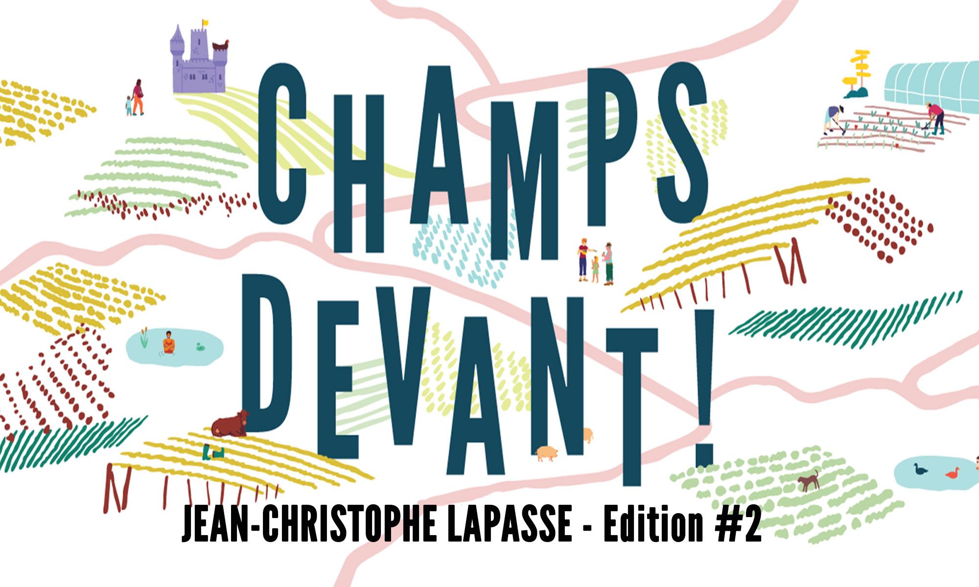 Organisation d'une ballade champêtre pour découvrir Jean-Christophe Lapasse.
