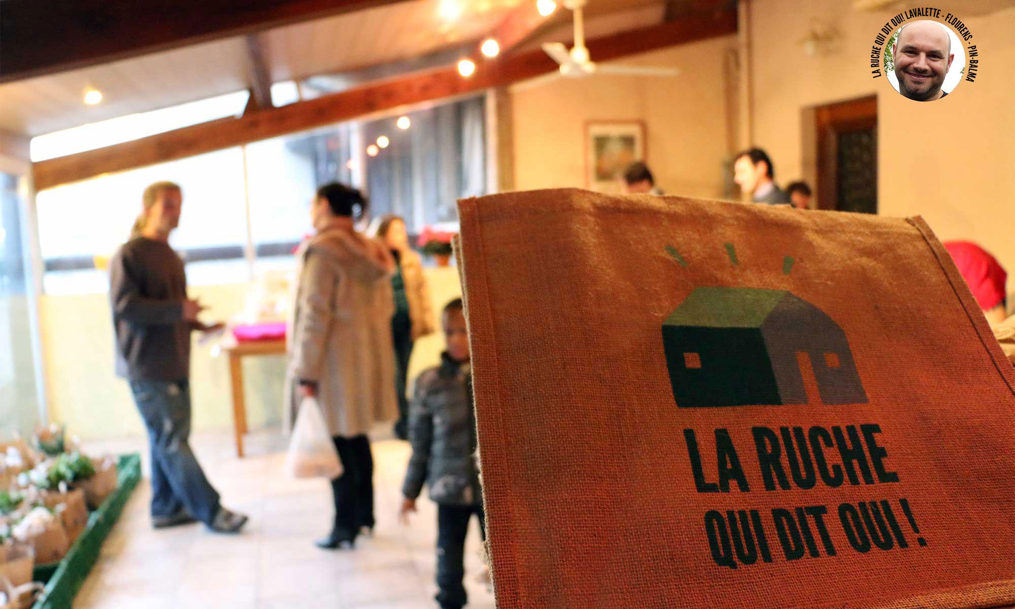 Circuit court social, solidaire et coopératif de la Ruche qui dit Oui!