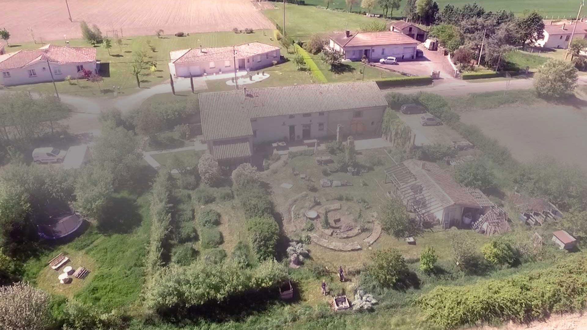 Oasis ressource des Jardins de Baugnac à côté de Toulouse.